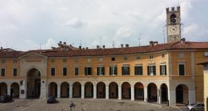 Vista su piazza Cavour