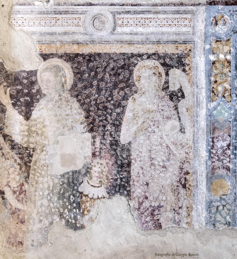 Convento Annunciata Rovato Coccaglio Interno Affreschi 20