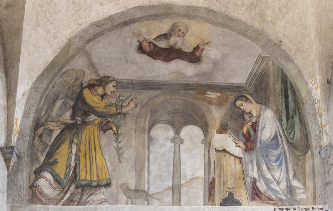 Convento Annunciata Rovato Coccaglio Interno Affreschi 3
