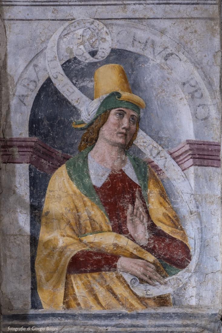 Convento Annunciata Rovato Coccaglio Interno Affreschi 33