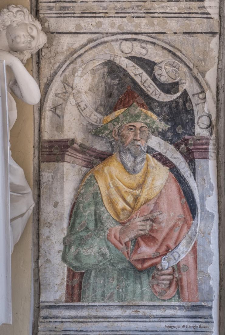 Convento Annunciata Rovato Coccaglio Interno Affreschi 37
