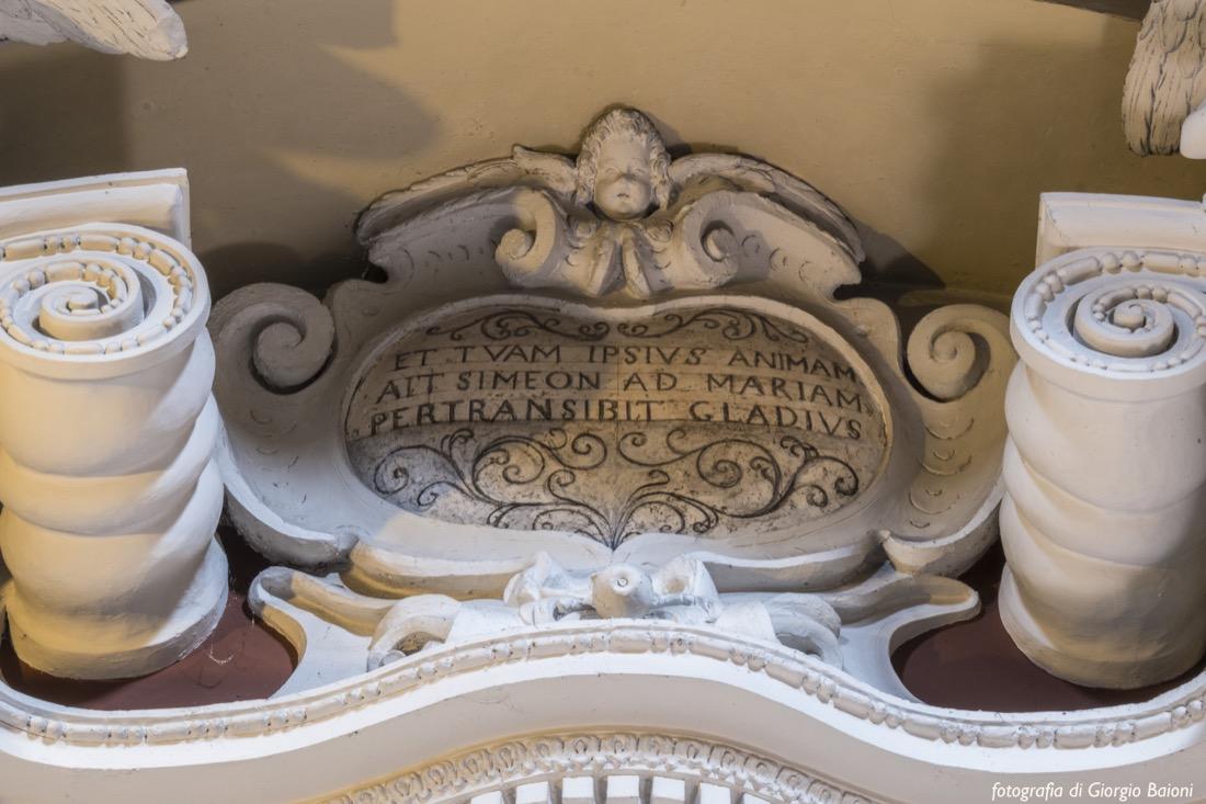 Convento Annunciata Rovato Coccaglio Interno Affreschi 40