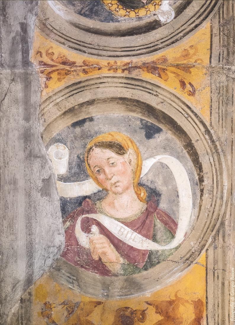 Convento Annunciata Rovato Coccaglio Interno Affreschi 44