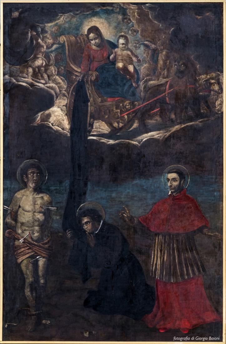 Convento Annunciata Rovato Coccaglio Interno Affreschi 58