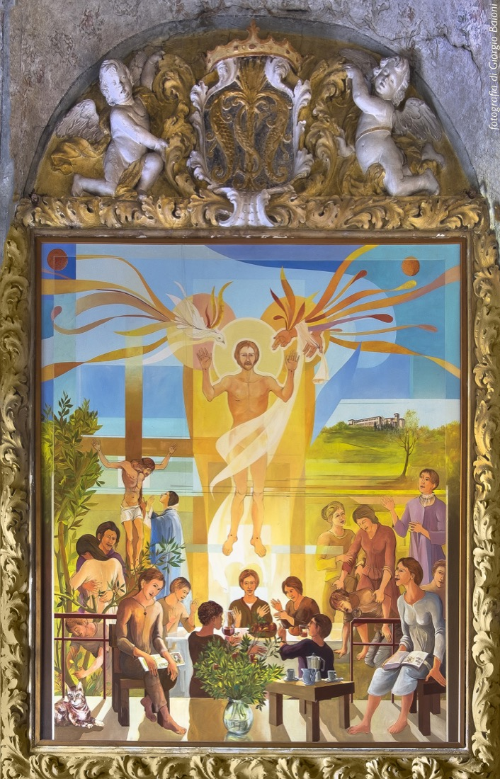 Convento Annunciata Rovato Coccaglio Interno Affreschi 62