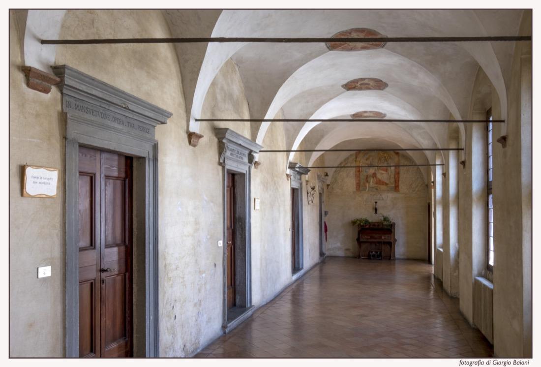 Convento Annunciata Rovato Coccaglio Interno Affreschi 82