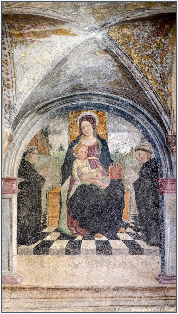 Convento Annunciata Rovato Coccaglio Interno Affreschi 91
