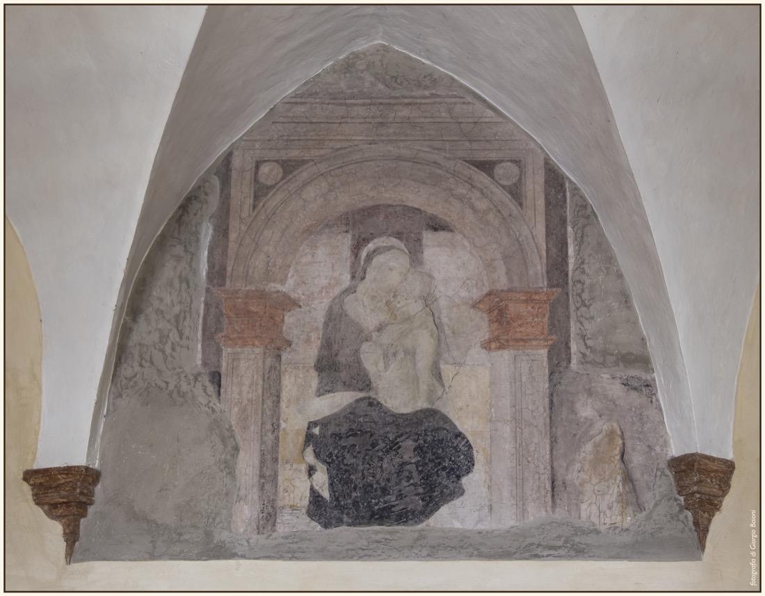 Convento Annunciata Rovato Coccaglio Interno Affreschi 95