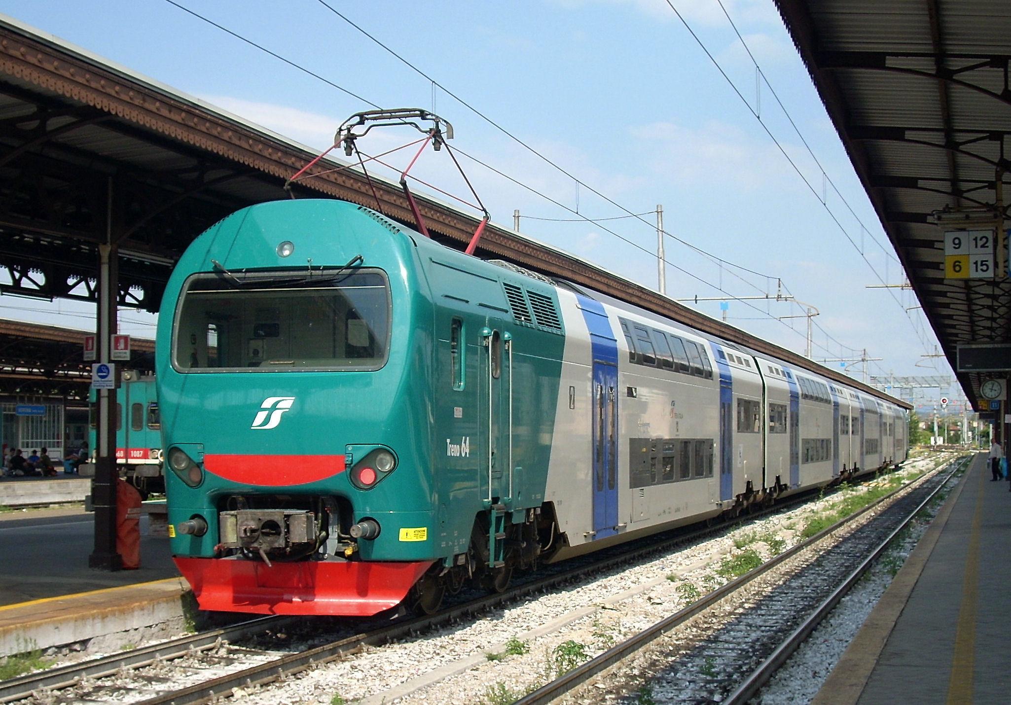 Un treno, foto generica