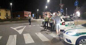 Polizia locale di Rovato, foto da pagina Facebook ufficiale